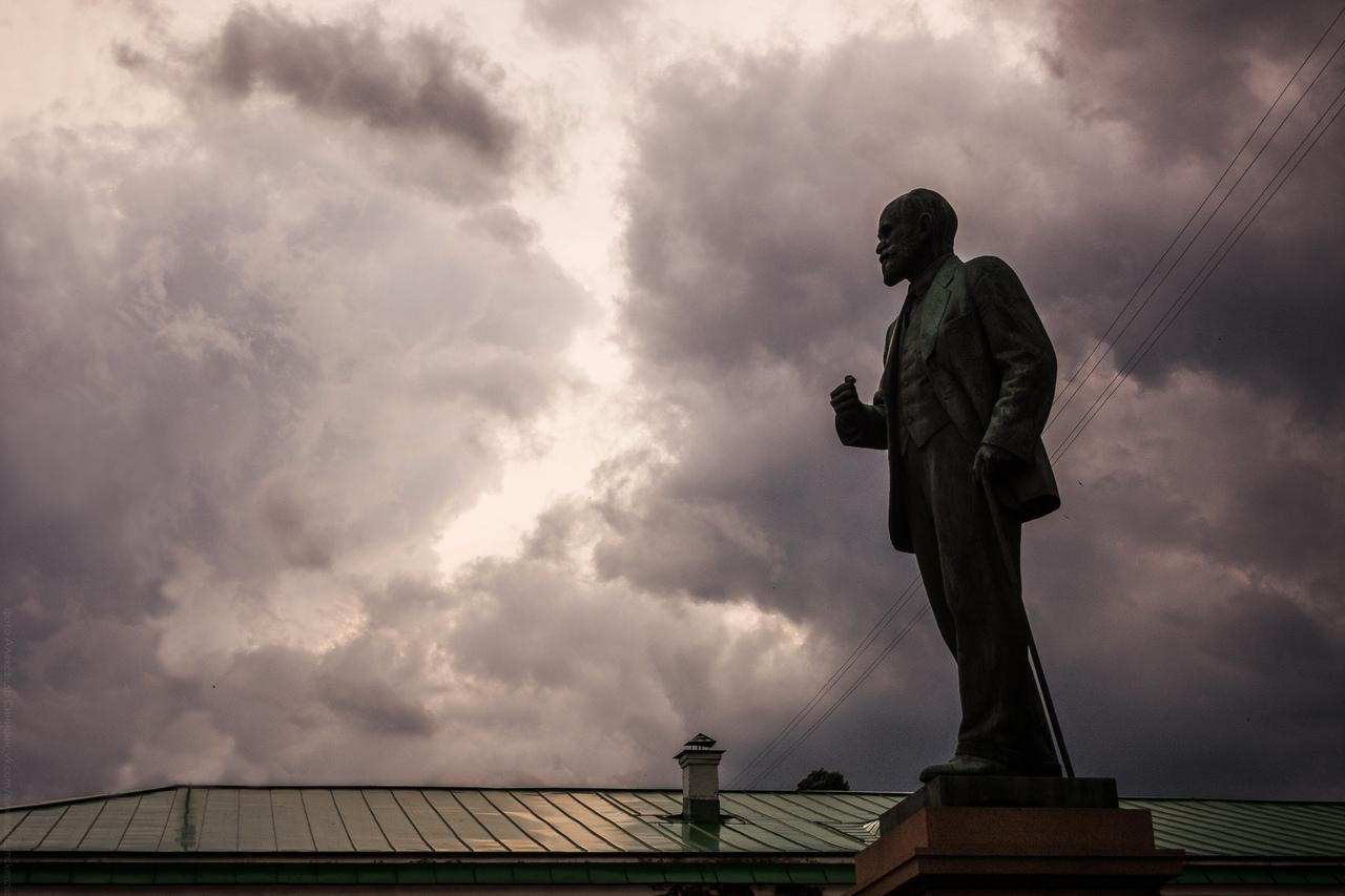 Памятник Павлову в Рязани