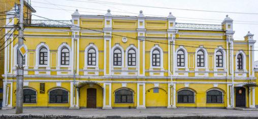 Здание бывшей винной монополии