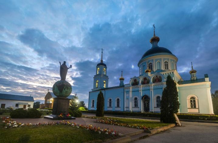 казанская церковь солотча
