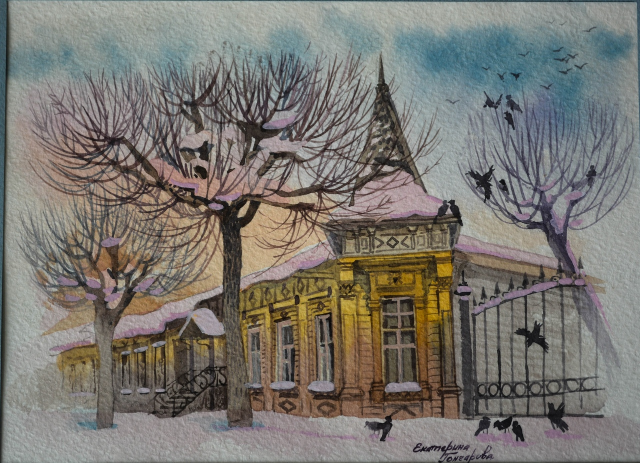 Дом приюта для девочек на Щедрина
