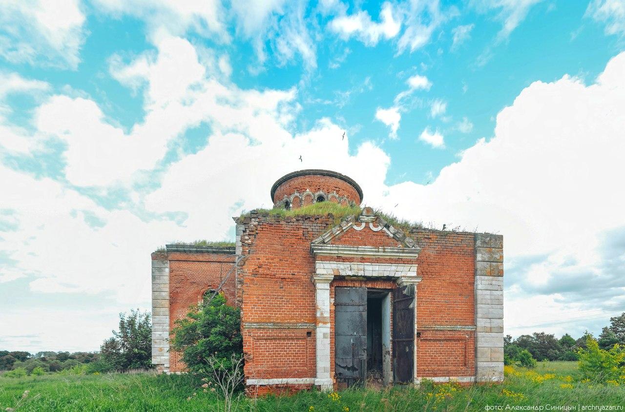 старое зимино рязанская область церковь