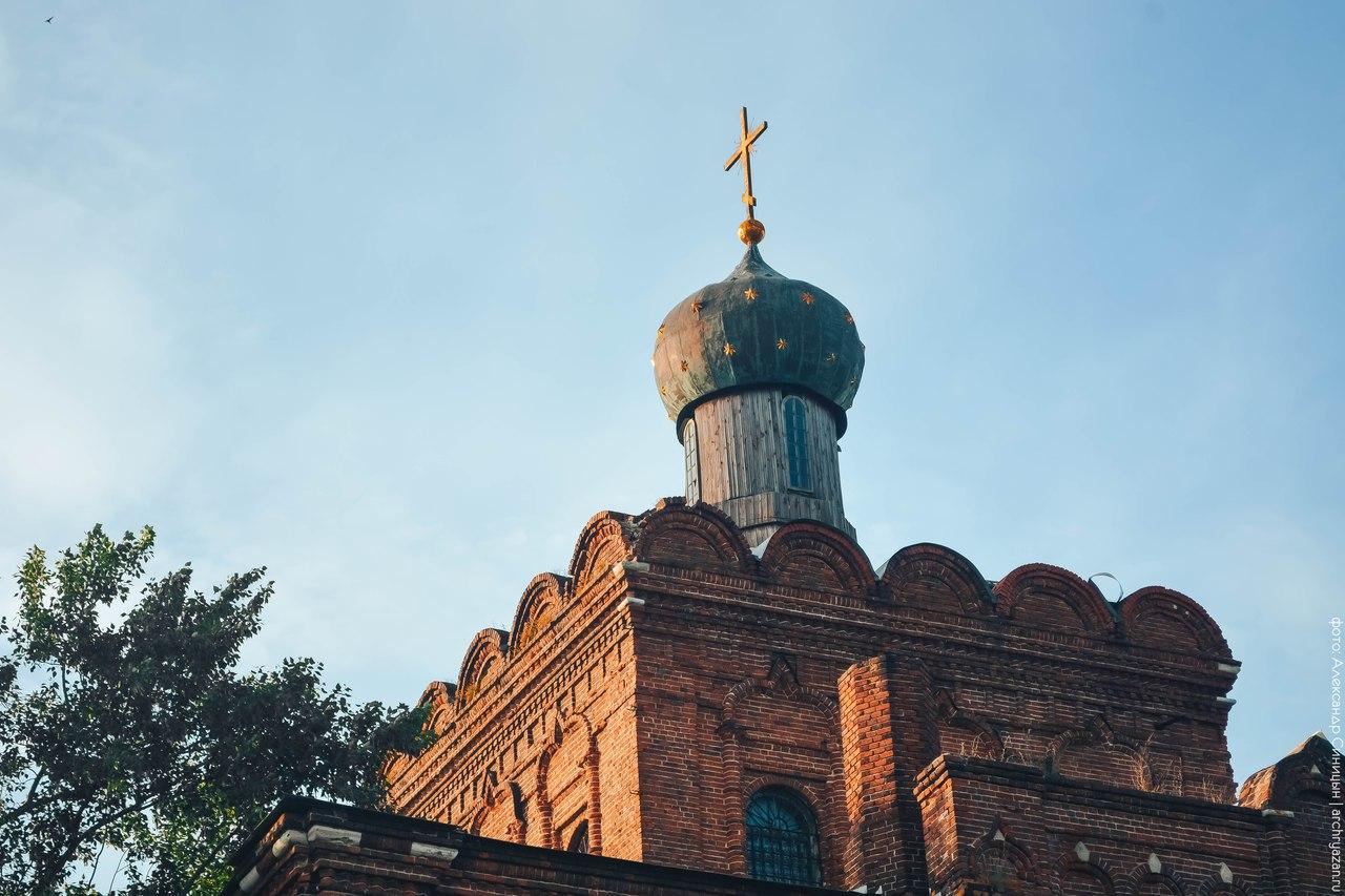 Купол храма в Коростово