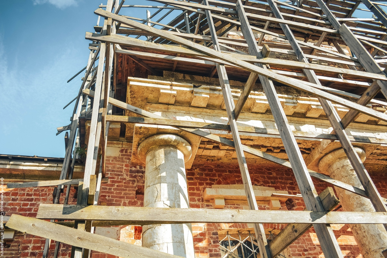 Реставрация памятника архитектуры