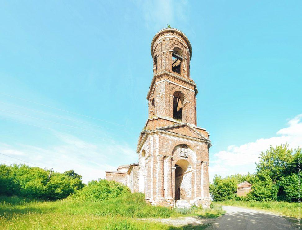 Церковь Спаса Нерукотворного. Калиновка