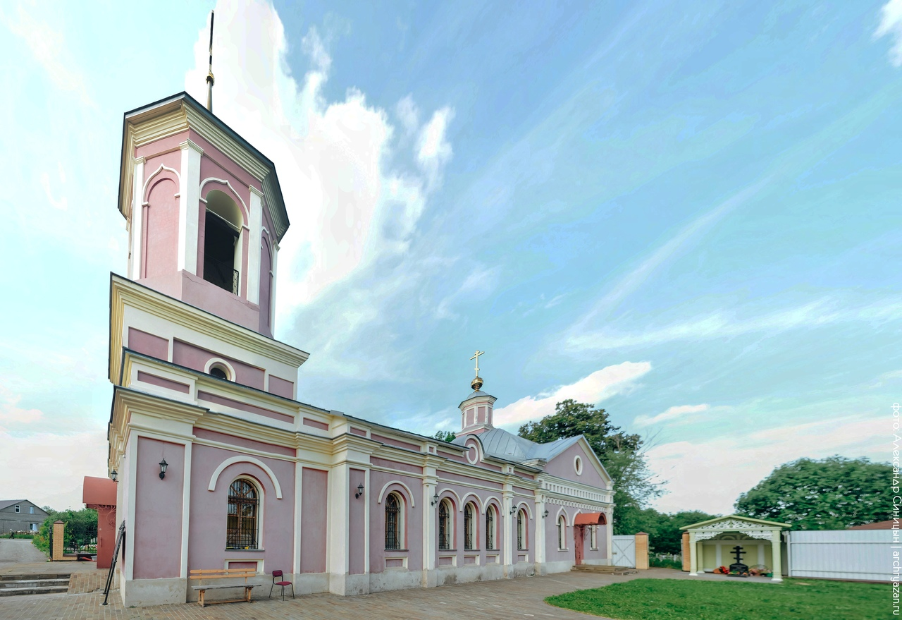 Церковь Тихвинской иконы