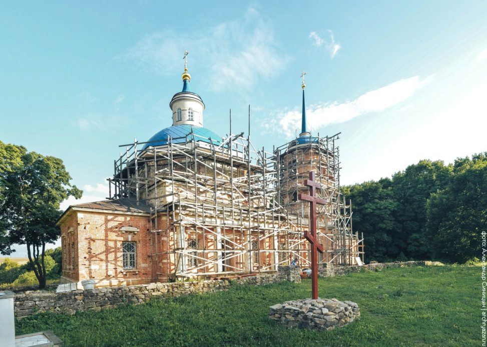 Проне-Городище. Церковь Крестовоздвиженская