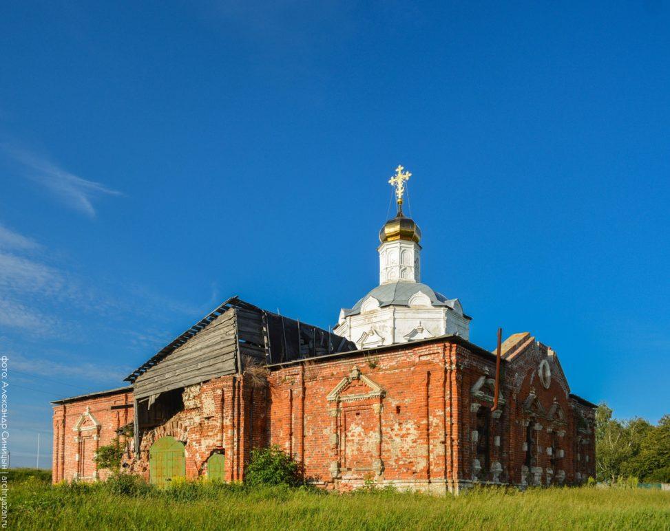 Церковь Успения Пресвятой Богородицы в Глебовом Городище