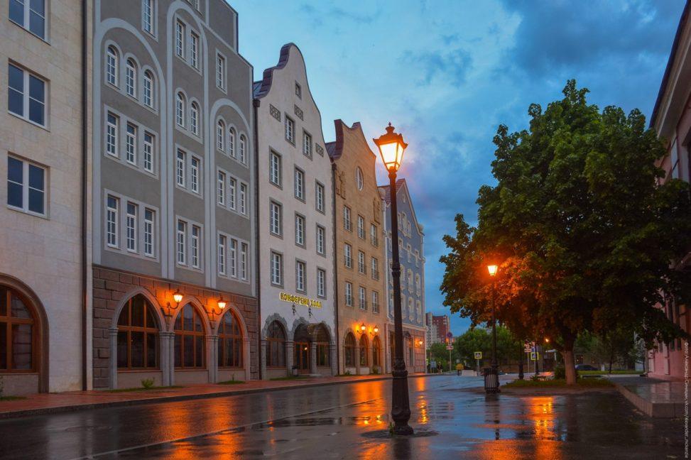 Мюнстерская улица, отель Старый город