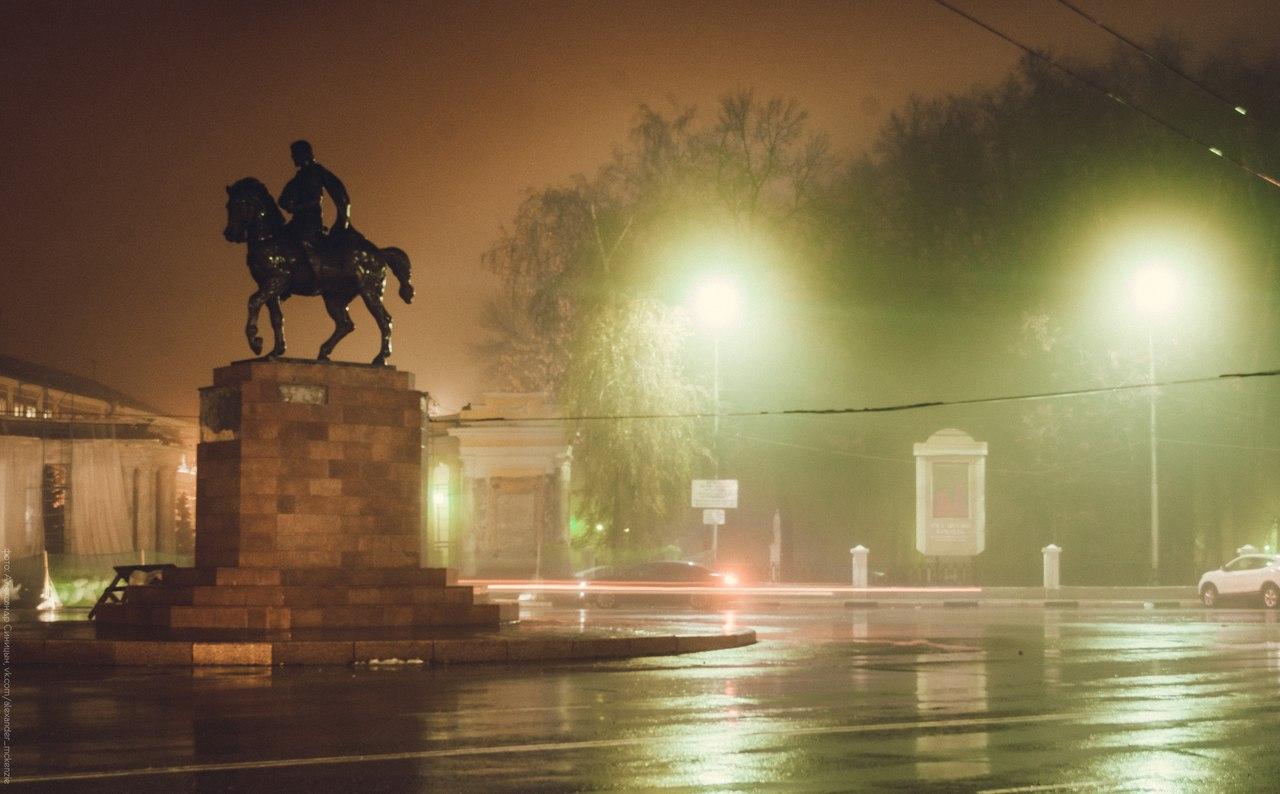 Памятник князю Олегу Рязанскому