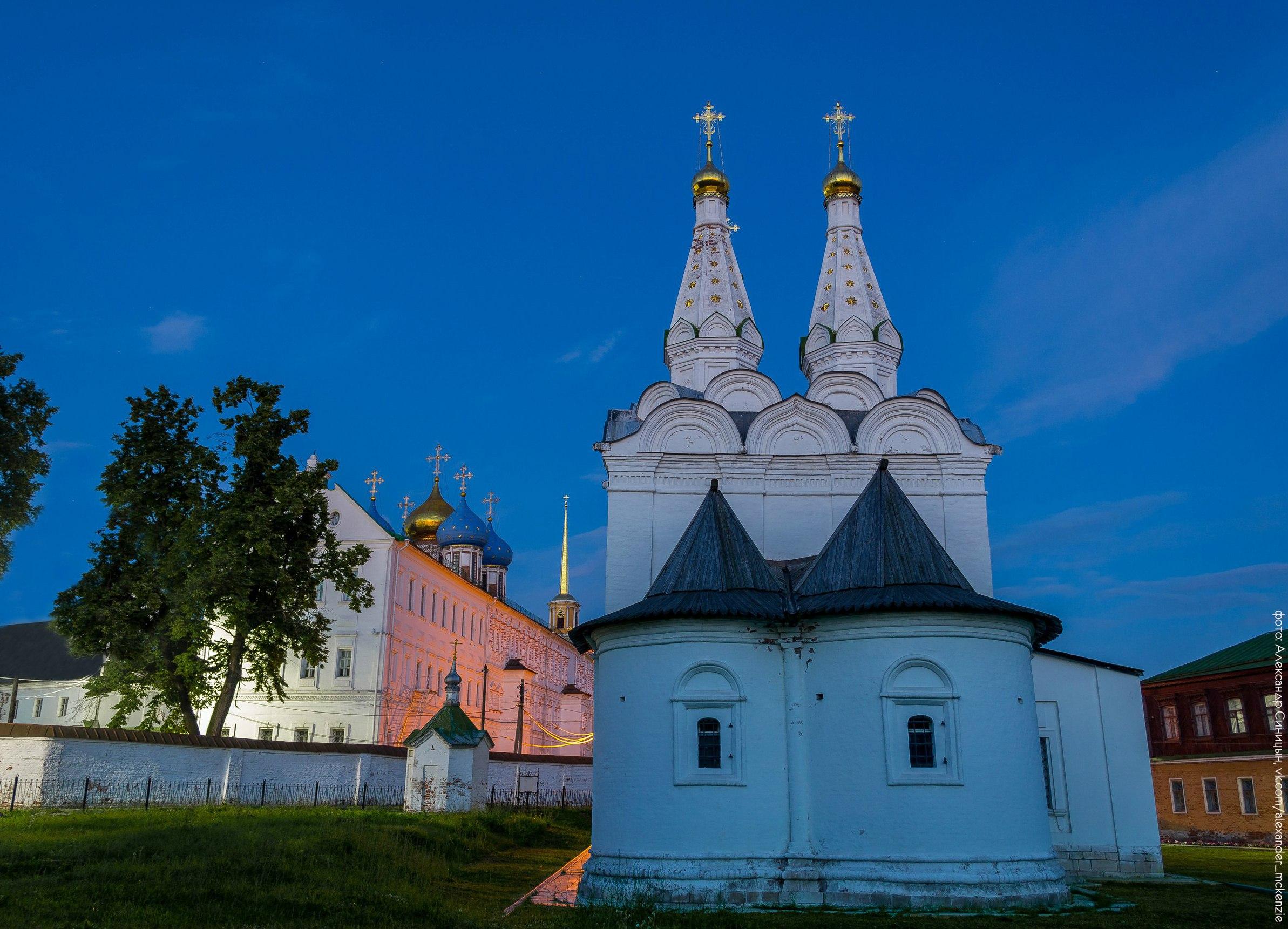 Церковь Святого духа Рязанский кремль
