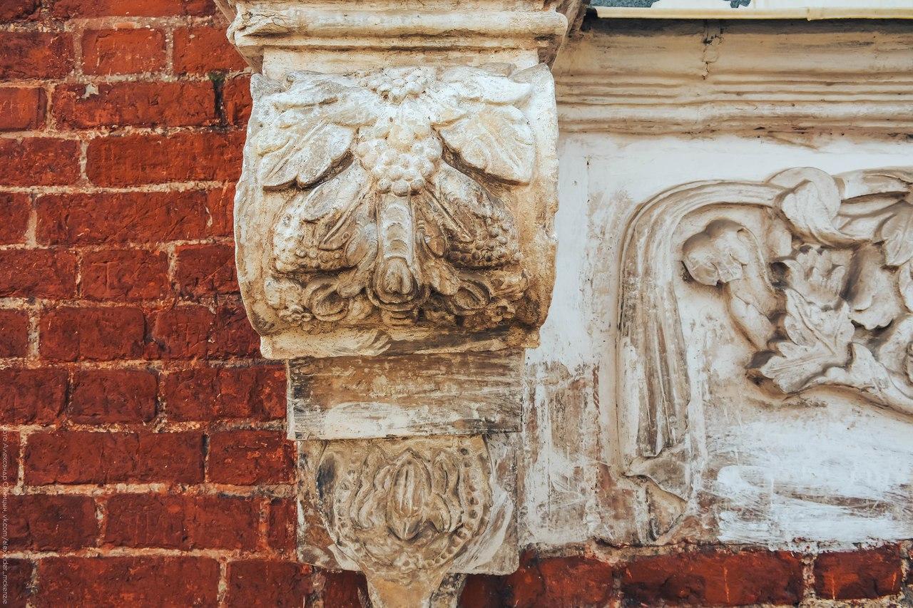 Резьба барокко по камню Рязанский кремль
