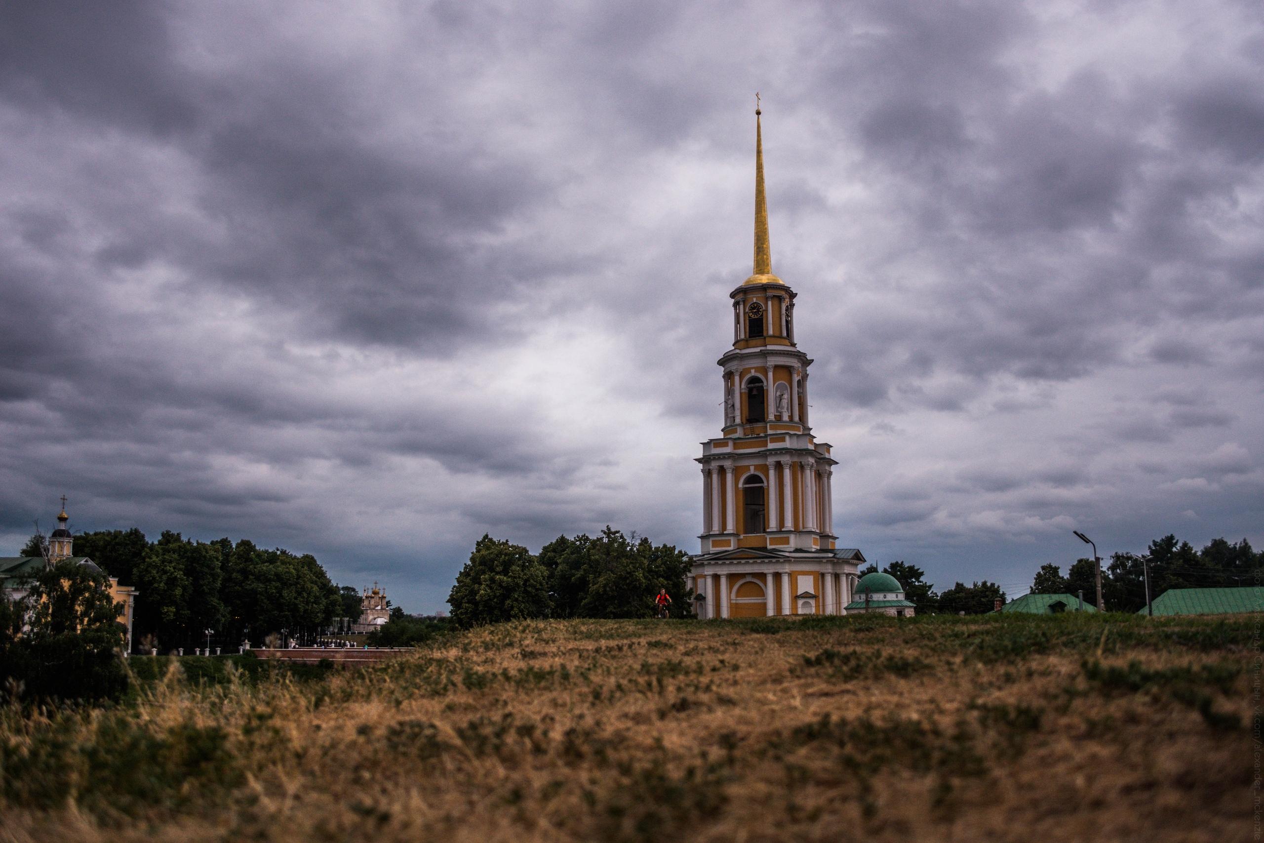 Вал Рязанский кремль