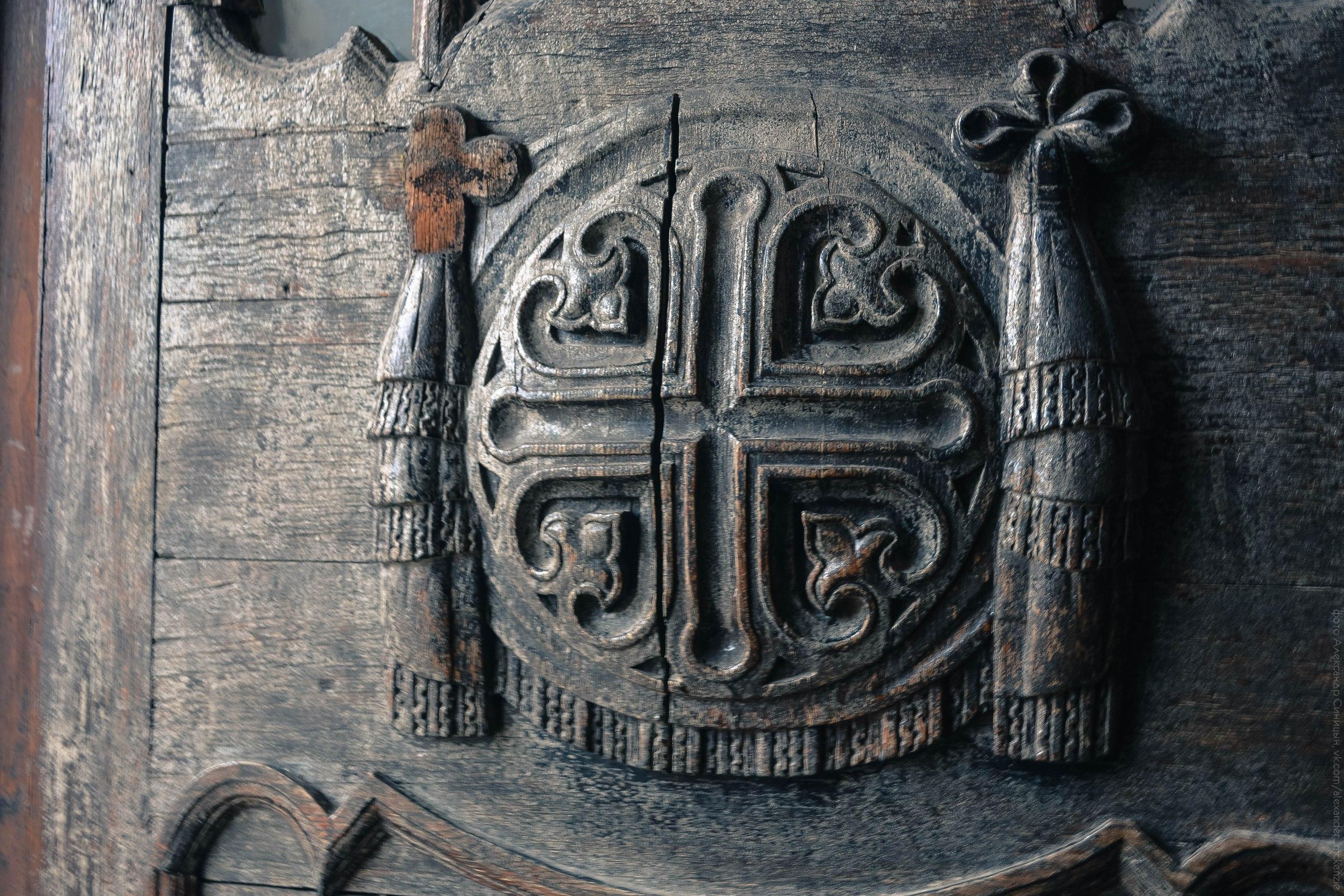 Деревянная резьба Рязанский кремль
