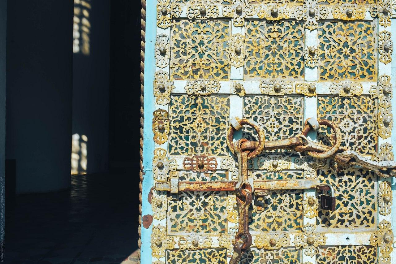 Ворота кованые Рязанский кремль
