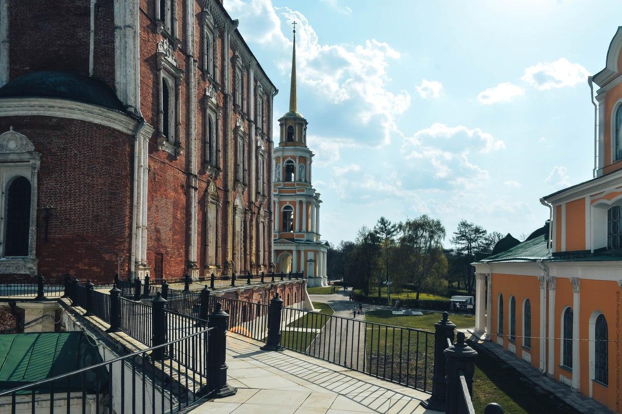 Успенский собор и Рязанский кремль
