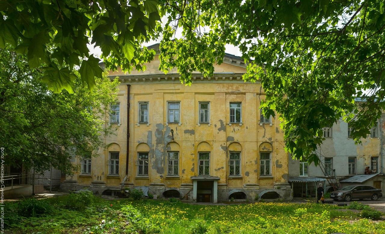 губернская семинарская больница Рязань