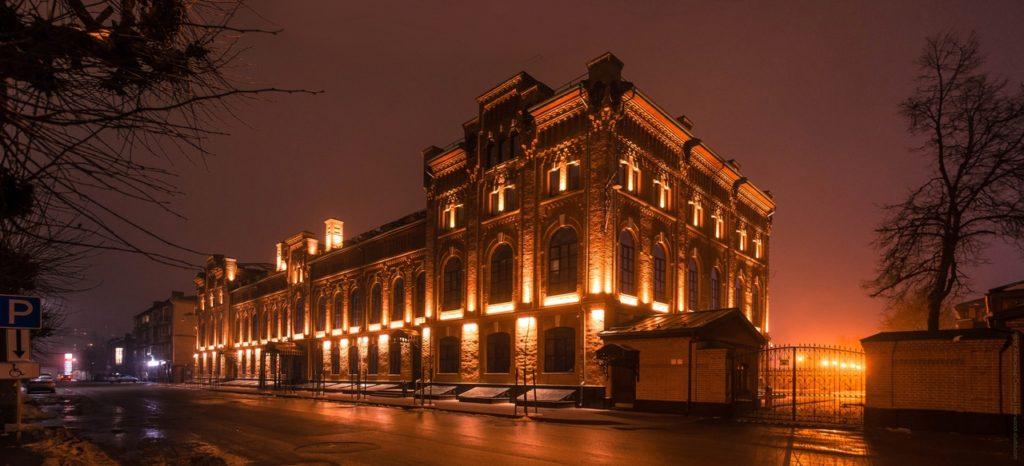 здание лвз рязань