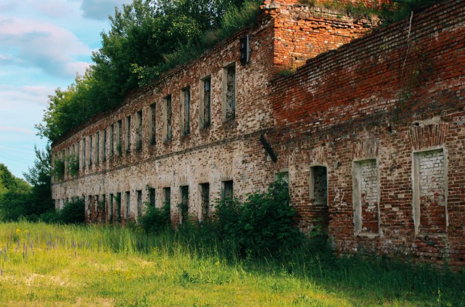 игольная фабрика и доменная печь рязанская