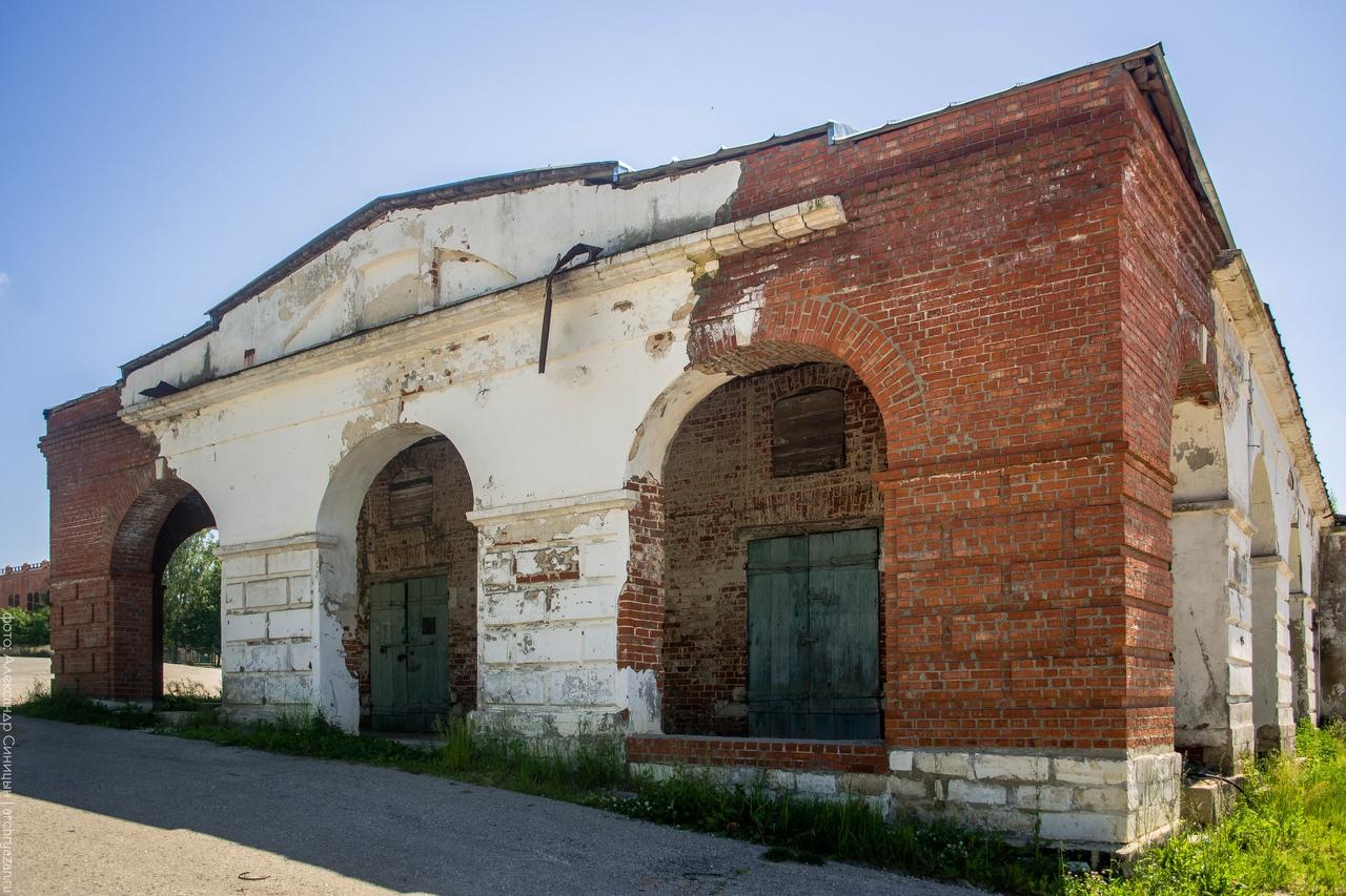 Торговые ряды в Касимове