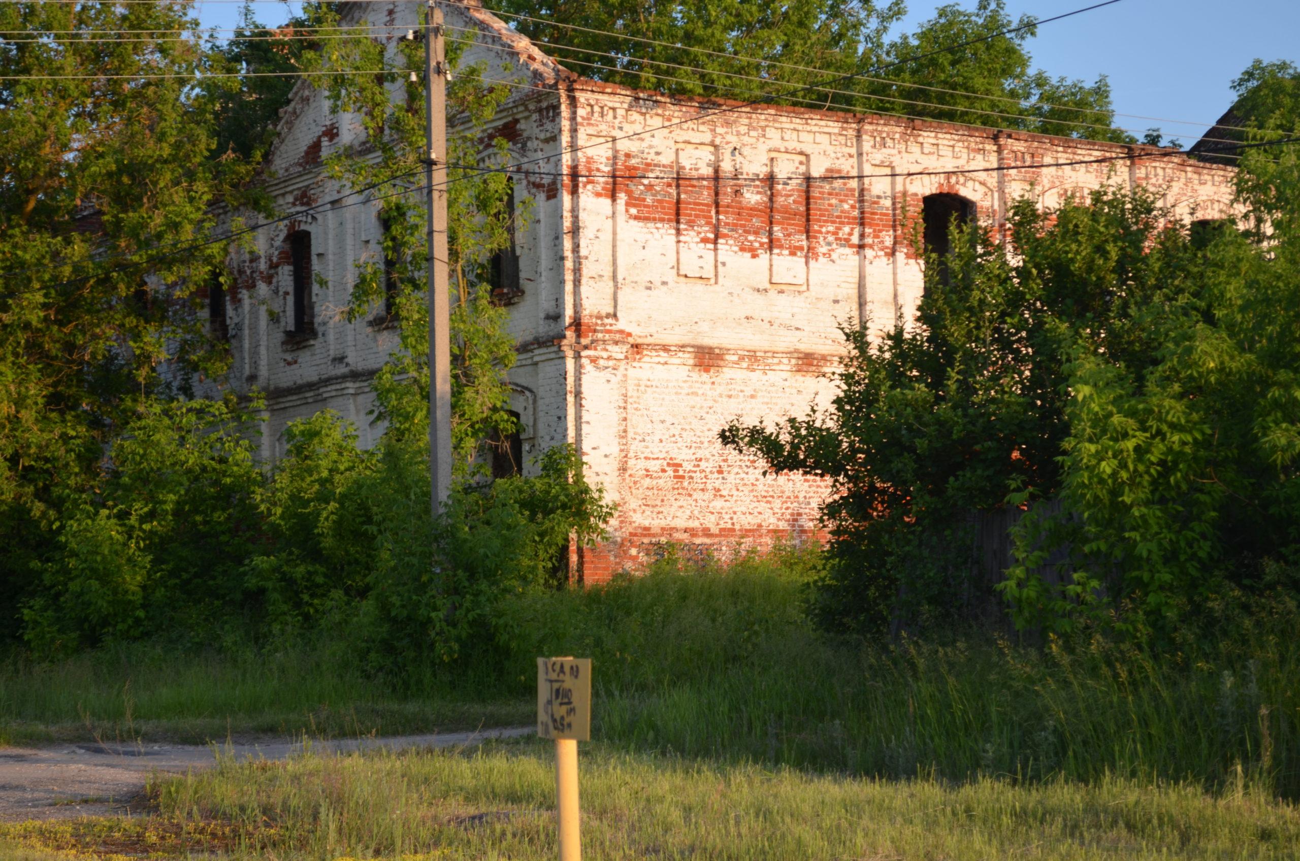 Усадьба Воронцова в Батьках Сасовский район Рязанская область