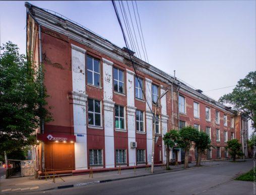 Здание швейной фарбики в Рязани Фурманова 60