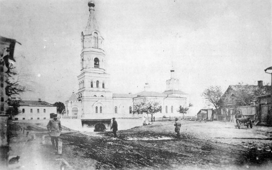старое фото Борисоглебский собор
