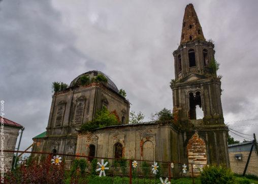 Воскресенская церковь Елатьма