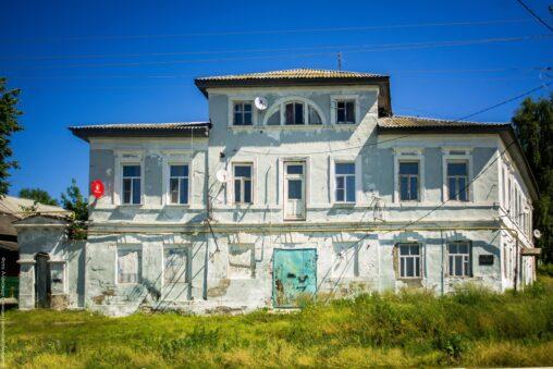 Усадьба П. Н. Шишкина находится на Набережной улице