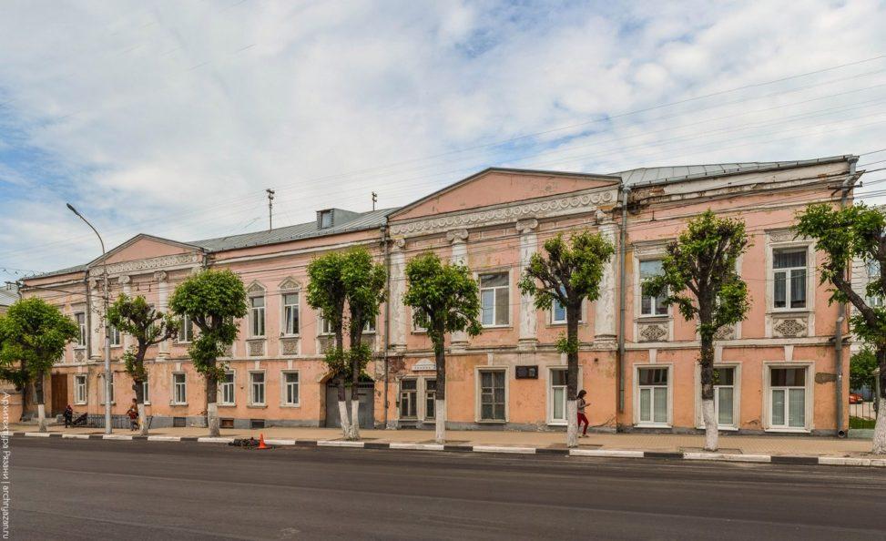 Здание школы №7 (Бывш. гимназия Зелятрова)