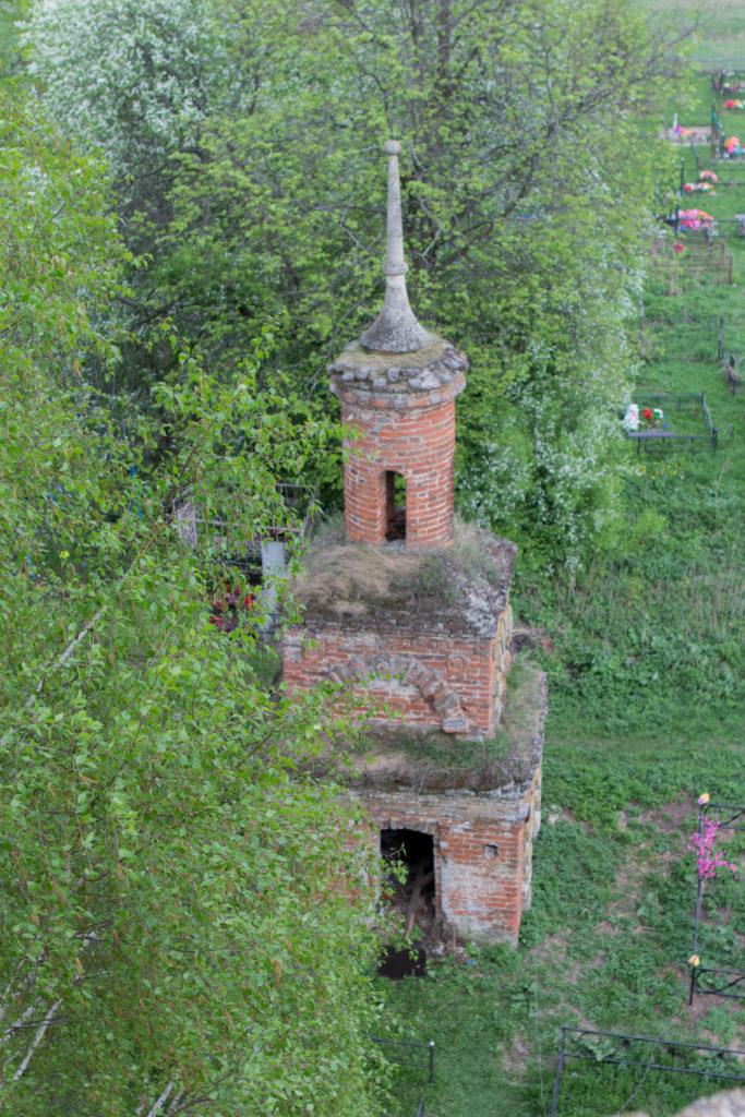 Большое Село, Пронский район церковь