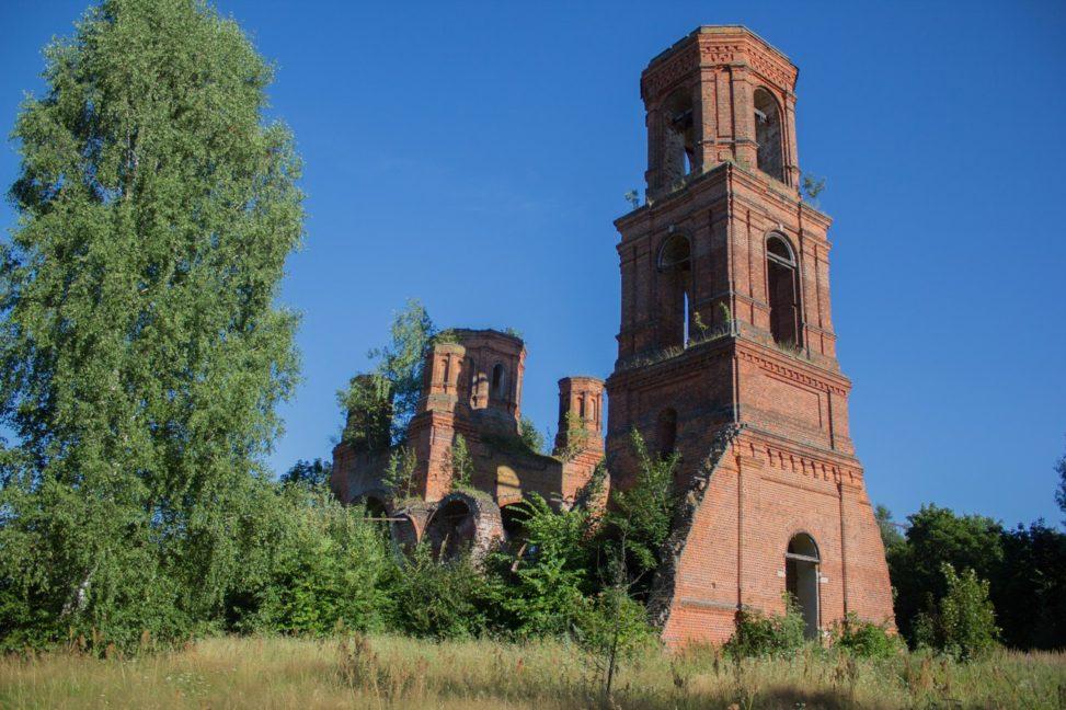 Ялмонт   Церковь Николая Чудотворца