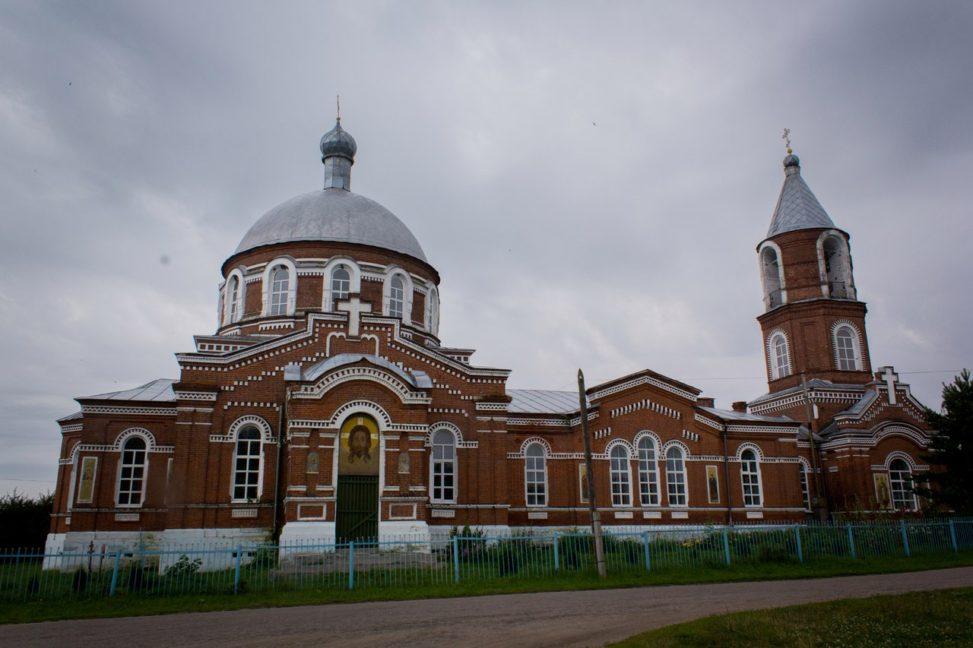 Спасский район, село Троица