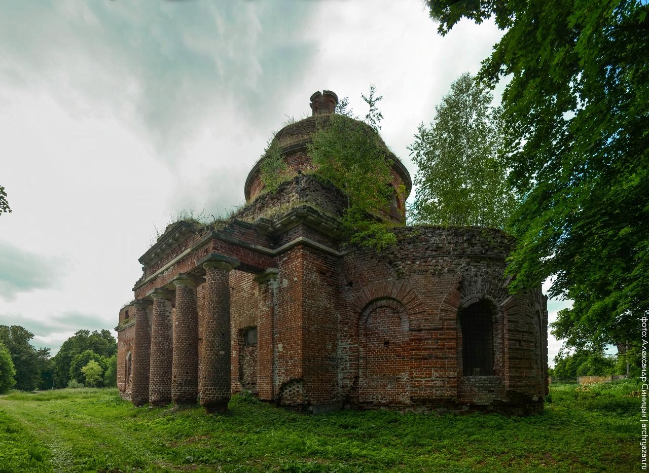 Церковь Осово, Рыбновский район