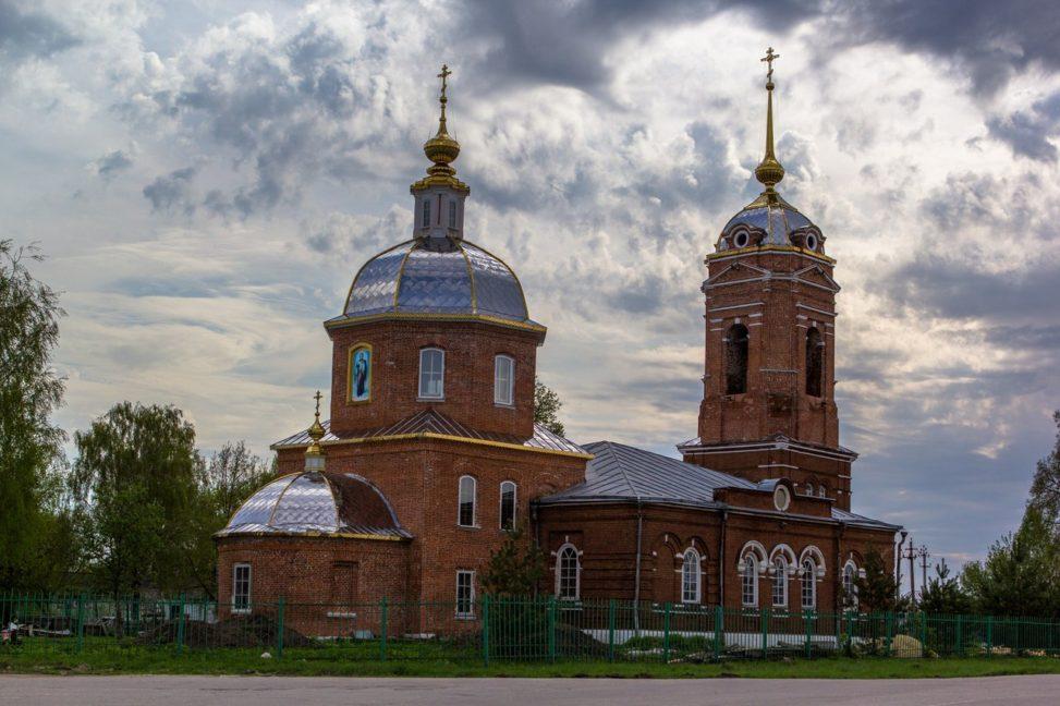 Храм Архангела Михаила, Пронск,
