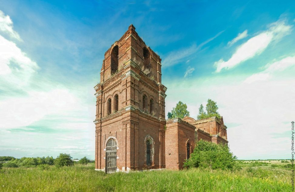 Церковь Преображения Господня в Токарево
