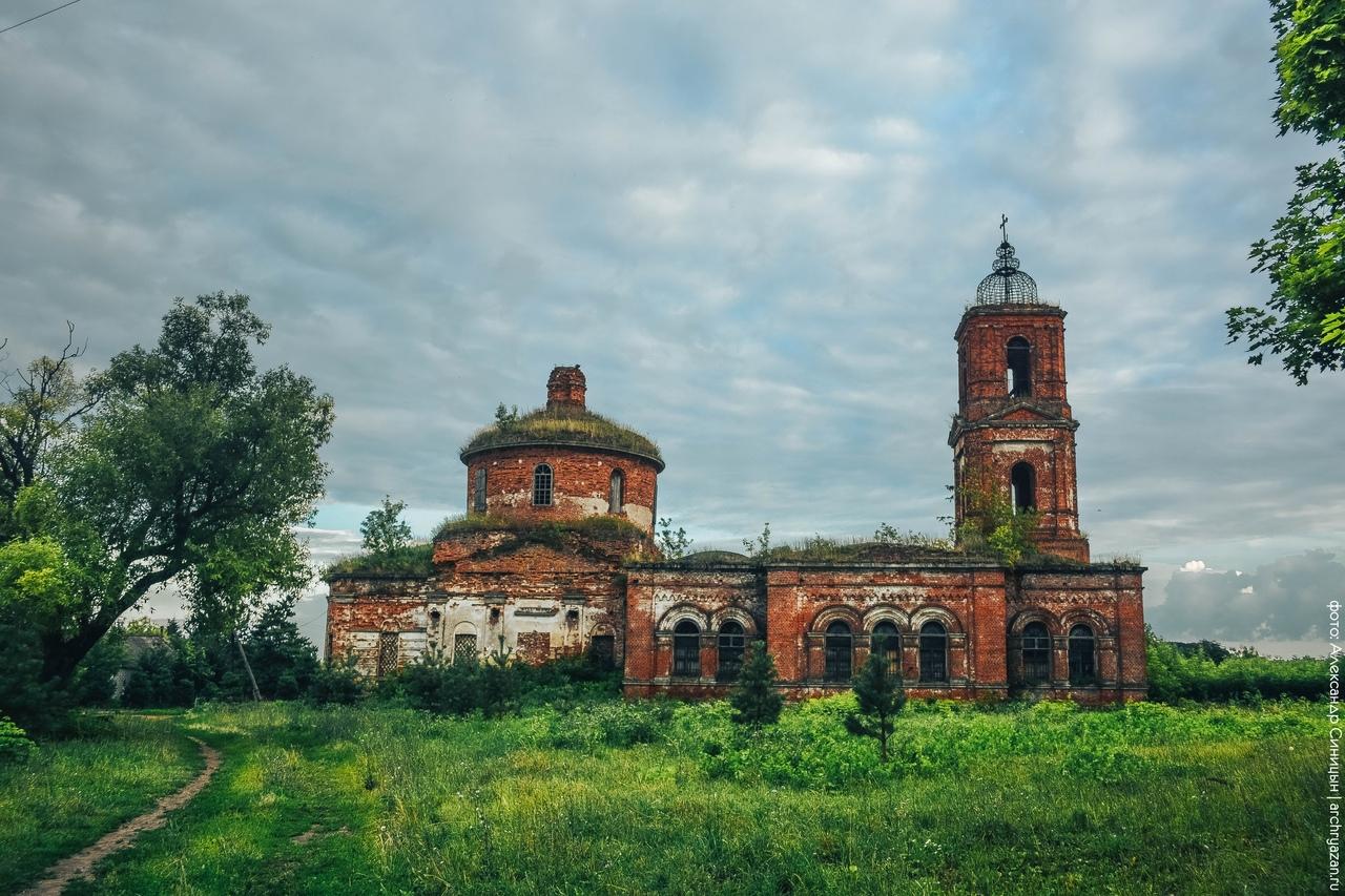 Рязанская область, Михайловский район, село Машково