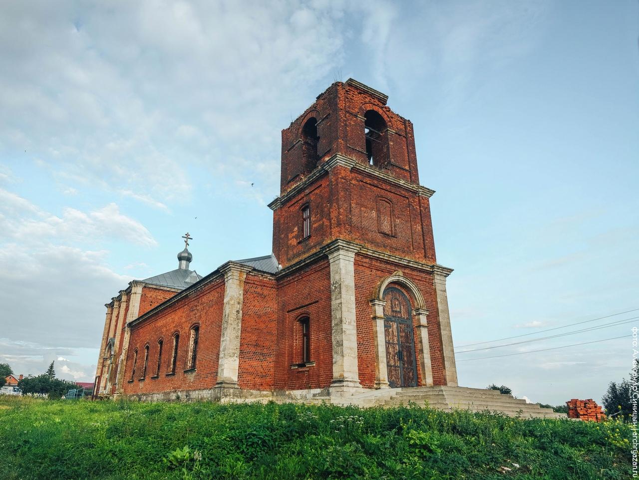 Церковь Покрова Пресвятой Богородицы в Лобановских Выселках