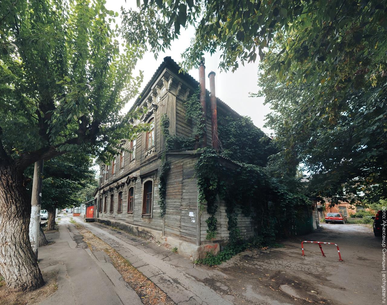Деревянный дом в Рязани