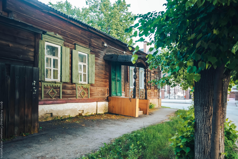 Деревянный дом на Щедрина Рязань
