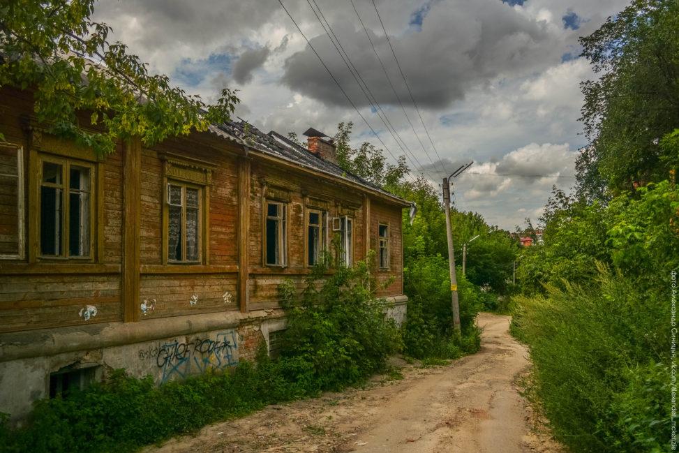 Заброшенный Садовая улица Рязань
