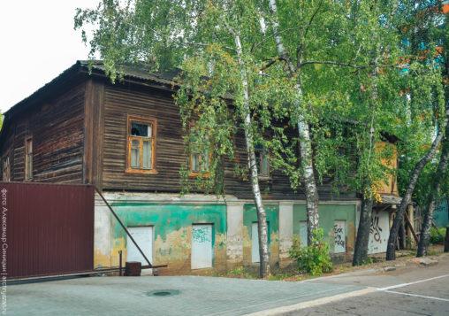 Жилой дом на улице Урицкого