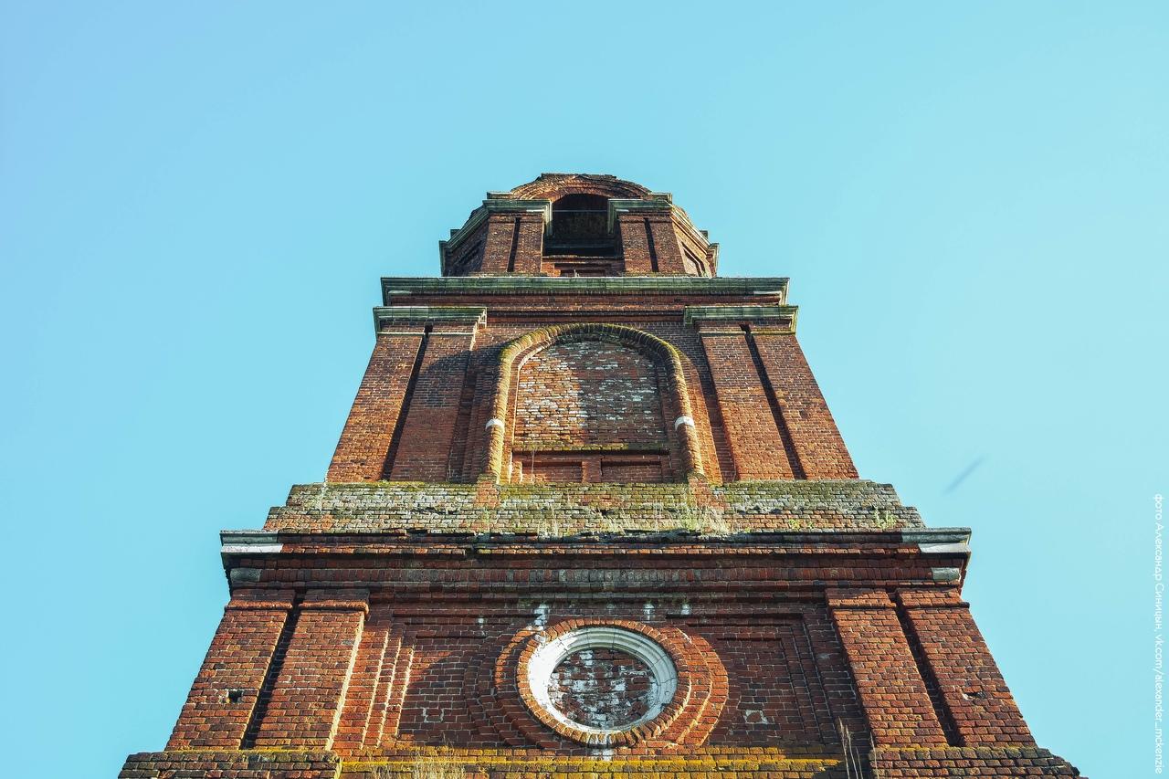 Заброшенная церковь в Рязанской области