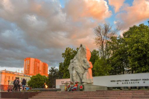 монумент победы рязань