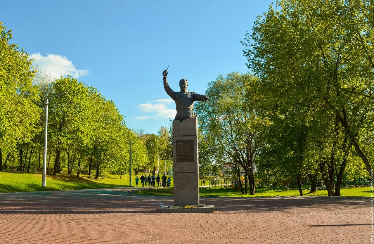 памятник александрову рязань