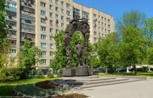 Памятник Маргелову в Рязани